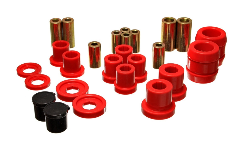 Energy Suspension Front End Control Arm Bushings (Red) - 2000-2009 Honda S2000