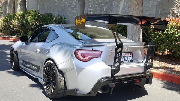 Battle Aero Scion FR-S / Subaru BRZ / Toyota GT86 (2013+) V1 Chassis Mount GT Wing