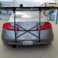 Battle Aero Infiniti G35 Coupe (V35) V4 Chassis Mount Wing