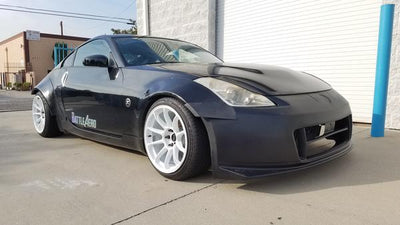 Nissan 350Z Fender Flares (+40mm)