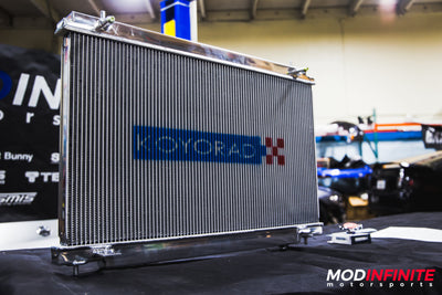 KOYORAD 36MM RACING RADIATOR: 350Z 07-08 (M/T ONLY)