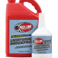 RED LINE 58404 LIGHTWEIGHT SHOCKPROOF GEAR OIL 1 QT