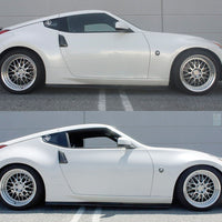 Megan Racing Nissan 370Z (10/8) (2009-20016) EZ II Street Series Coilovers give an amazing low stance while increasing performance on the street and track.