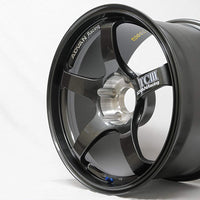 TCIII ( TC3 ) Wheel 18x9.5 / 5x100 / Offset +45 DARK GUNMETALLIC
