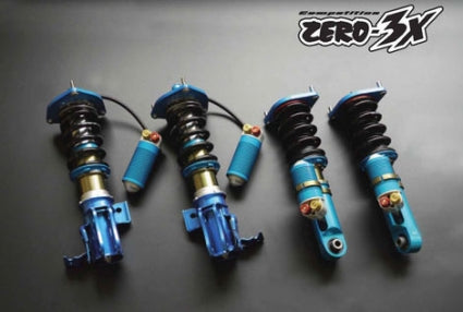 Cusco Competition Zero-3X Coilovers - '00-'09 Honda S2000