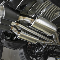 aFe Power Takeda Stainless Steel Cat-Back Exhaust w/ Tri-Carbon Tips -Honda Civic Type R FK8 17+