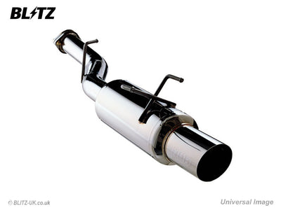 Blitz NUR-Spec R Axle-Back Exhaust - 2002-2007 Subaru Impreza WRX/STI (REAR SECTION ONLY)