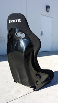 BRIDE VIOS STYLE RACING BUCKET SEAT WIDE SPEC (BLACK W/ GRADIENT BACKING)