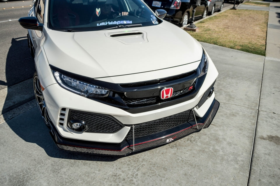 APR Performance Front Wind Splitter - 2017+ Honda FK8 Civic Type R CW-917022