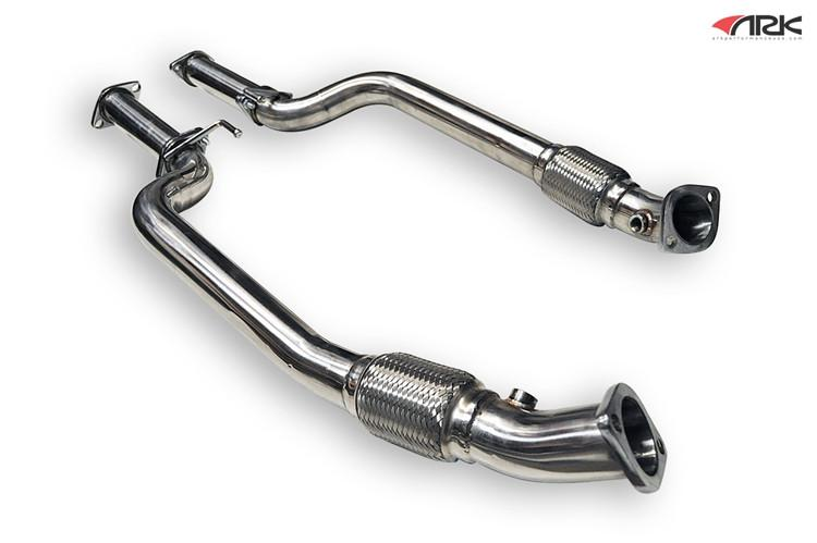ARK Hyundai Genesis Coupe 3.8L / GDI Down Pipes + Straight Pipes (2010-2016)