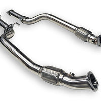 ARK Hyundai Genesis Coupe 3.8L / GDI Down Pipes (2010-2016)