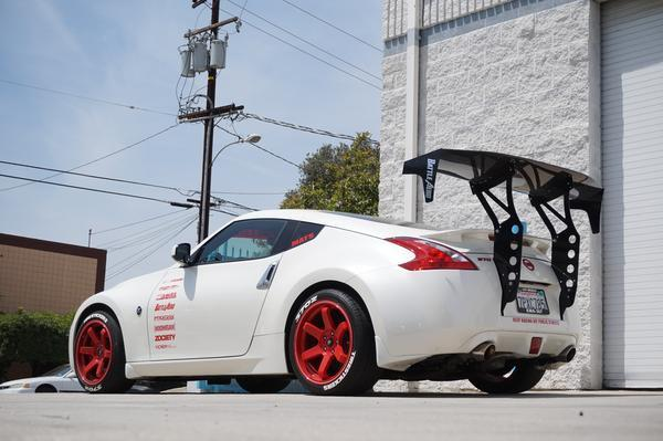 Battle Aero V3 Chassis Mount GT Wing Kit for Nissan 370Z