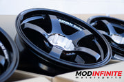 Advan TCIII (TC3) Wheel 18x10.5 / 5x114.3 / Offset +25 RACING BLACK FINISH Modinfinite motorsports
