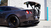 Battle Aero V4 Chassis Mount GT Wing for Nissan GT-R (R35)