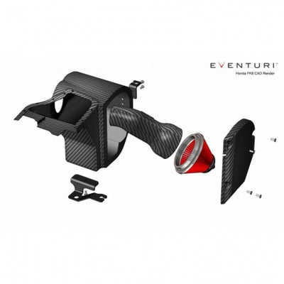 Eventuri Black Carbon Intake  Honda Civic Type R FK8 17+