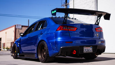 Battle Aero Mitsubishi Evo X Trunk-Mount GT Wing