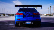 Battle Aero Trunk-Back Mount GT Wing for 08-15 Mitsubishi EVO X / Lancer