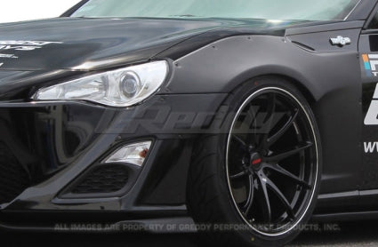 Rocket Bunny Ver 1 Front Over Fender (only) - Scion FRS / Subaru BRZ
