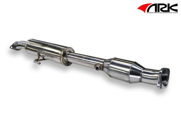 ARK Kia Optima 2.0T/2.4L Resonated High Flow Cat Test Pipe (2011-2013)