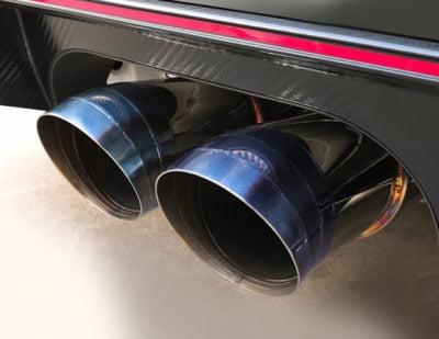 J's Racing SUS Exhaust Plus Dual 70RS  Honda Civic Type R FK8 17+