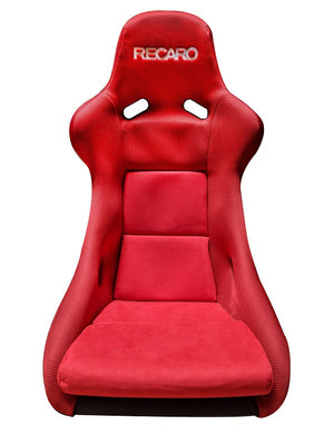 RECARO POLE POSITION N.G.: SUEDE RED, JERSEY RED (SILVER LOGO)