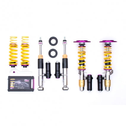KW Suspension Clubsport Coilovers (2-way) Mitsubishi Lancer (CT9A) EVO 7, EVO 8, EVO 9 01-07