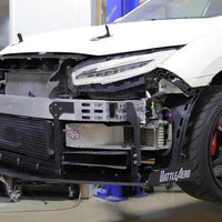 Battle Aero Honda FK8 Civic Type R Chassis Mounted Splitter