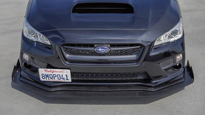 Battle Aero Chassis Mounted Splitter for 15-20 Subaru WRX / STI (VA)