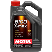 MOTUL 8100 0W40 X-MAX ENGINE OIL 5 LITER