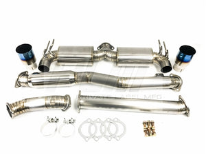 Private Label Mfg Power Driven Titanium Exhaust  Evo X 08-15 V2