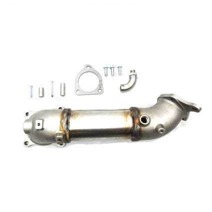 "PRL Motorsports 3.5"" Downpipe (Race / Catless) Honda Civic Type R 2.0T 2017+"