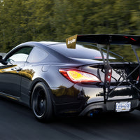 Battle Aero V4 Hyundai Genesis Coupe Chassis Mount GT Wing Kit
