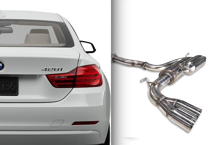 ARK Performance BMW 3-Series/4-Series GRiP Catback Exhaust (2012+ BMW 328i/428i)