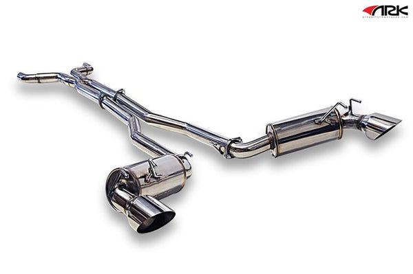 Ark Performance Chevrolet Camaro N-II Catback Exhaust (2010-2013)
