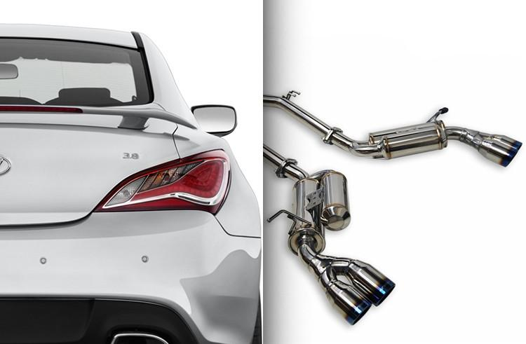 Ark Performance Hyundai Genesis Coupe 3.8L GRiP Catback Exhaust (2010-2016)