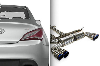 Ark Performance Hyundai Genesis Coupe 2.0T DT-S Catback Exhaust (2010-2016)
