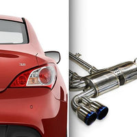 Ark Performance Hyundai Genesis Coupe 3.8L DT-S Catback Exhaust (2010-2016)