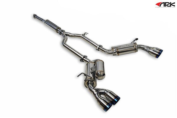 Ark Performance Hyundai Genesis Coupe 2.0T GRiP Catback Exhaust (2010-2014)
