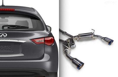 Ark Performance Infiniti  FX35 / FX37 (QX70) GRiP Catback Exhaust (2009-2016)