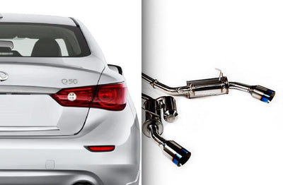 Ark Performance Infiniti Q50 Hybrid / 3.7L GRiP Catback Exhaust (2014+)