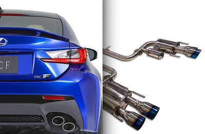 Ark Performance Lexus RC F GRiP Catback Exhaust (2015+)