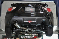 Tanabe Concept G Single Exit Cat Back Exhaust - Scion FR-S / Subaru BRZ
