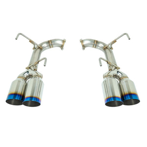 "REMARK 4"" Burnt Stainless Steel Quad-Tip Axle-Back Exhaust (Single Wall) - 2015+ Subaru WRX/STI (VA)"