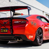 Battle Aero V4 Chassis Mount GT Wing Kit 16+ Chevrolet Camaro (Gen 6)
