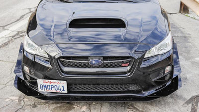 Battle Aero Front Bumper Canards for 15-17 Subaru WRX / STI (VA)
