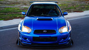 Battle Aero 2002-2005 Subaru WRX/STI GD Chassis-Mount Splitter Kit