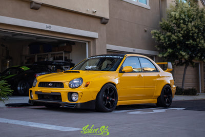 Battle Aero '02-'03 Subaru WRX / STI (GD) ( Bugeye ) Wide-Body Kit