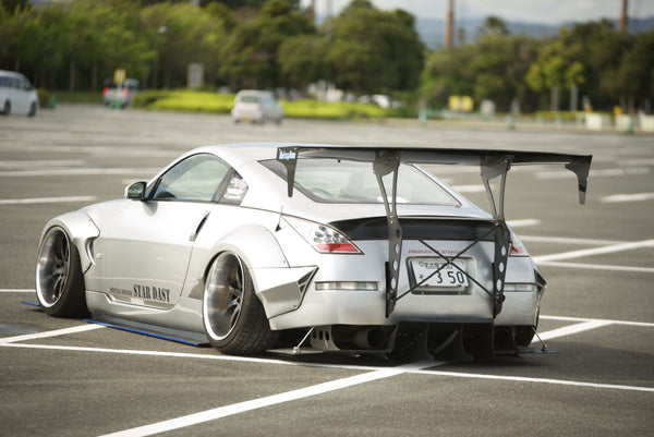 Battle Aero Nissan 350Z (Z33) V4 GT Chassis Mount GT Wing
