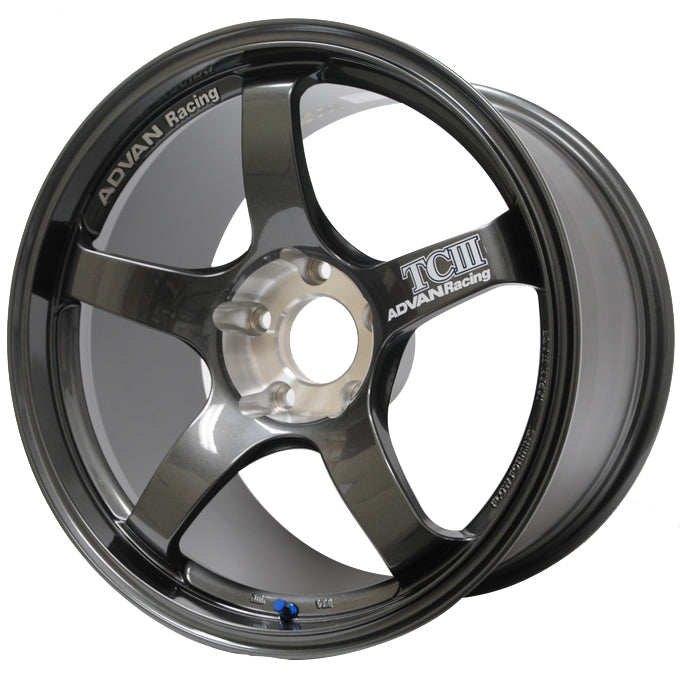 TCIII ( TC3 ) Wheel 18x8.5 / 5x100 / Offset +45 DARK GUNMETALLIC