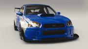 Battle Aero Chassis Mounted Splitter Subaru WRX / STi  GD (2002-2007)